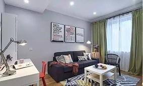 两居室,混搭装修风格案例!11667836