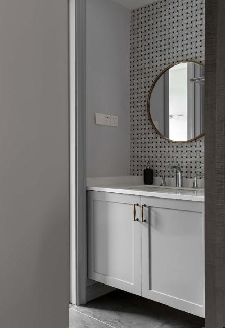 115平两居室美式风,低调的奢华美感卫生间