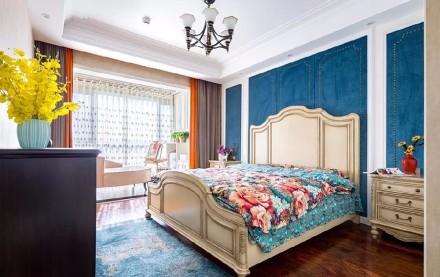 欧法式浪漫三居室,精致而又典雅~卧室