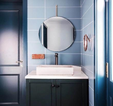 100平米打造潮流混搭三室卫生间2图
