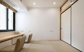 素美舒压,90㎡日式风居室功能区日式设计图片赏析