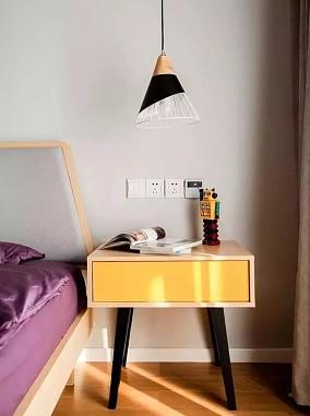 115㎡北欧风复式装修,一室四用卧室北欧极简设计图片赏析