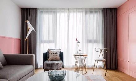 110平打造北欧三室客厅