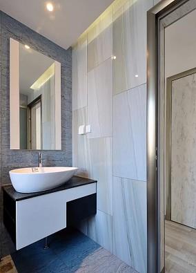 别具一格的90㎡二居室卫生间2图潮流混搭设计图片赏析