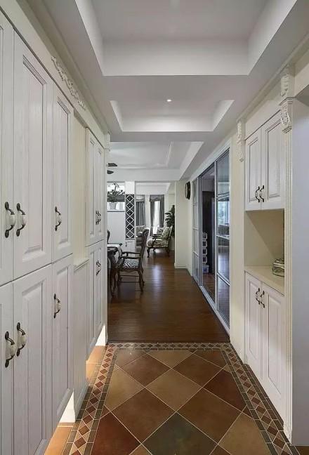美式装修风格,温馨又舒适,尤其是儿童房!玄关
