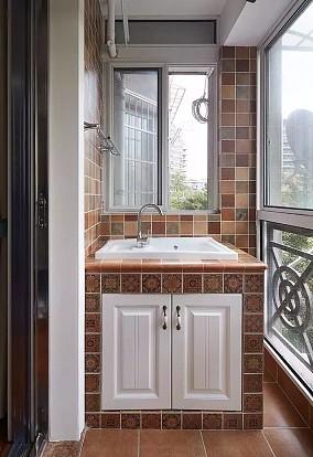 美式装修风格,温馨又舒适,尤其是儿童房!阳台美式经典设计图片赏析