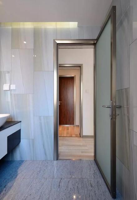 别具一格的90㎡二居室卫生间1图