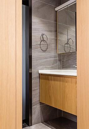 轻奢是一种优雅的生活态度卫生间现代简约设计图片赏析