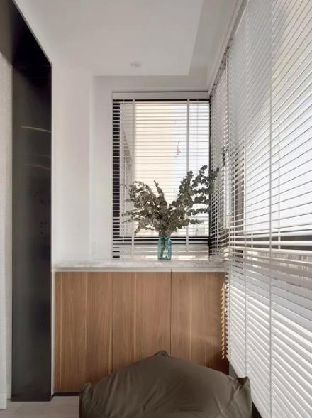 简约北欧2室2厅,温暖而舒适的惬意生活阳台
