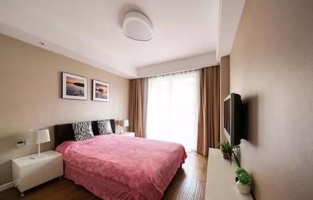 136平大方实用的现代简约风卧室