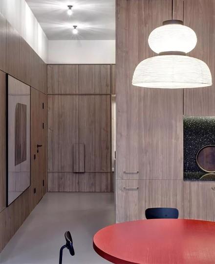 99平米的色彩艺术舒适、个性厨房