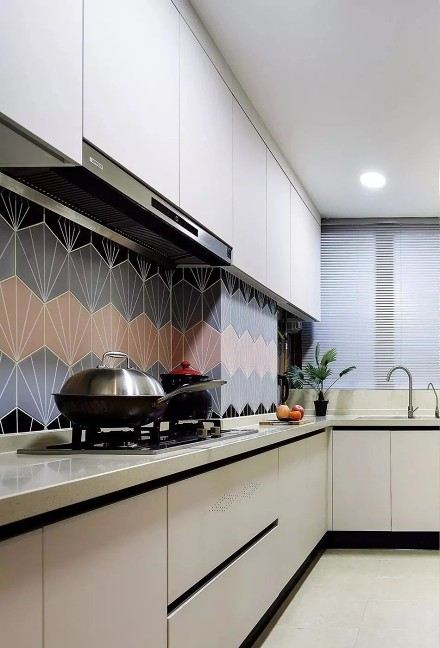 美式风格装修,家每一处鲜明又不落俗套!餐厅