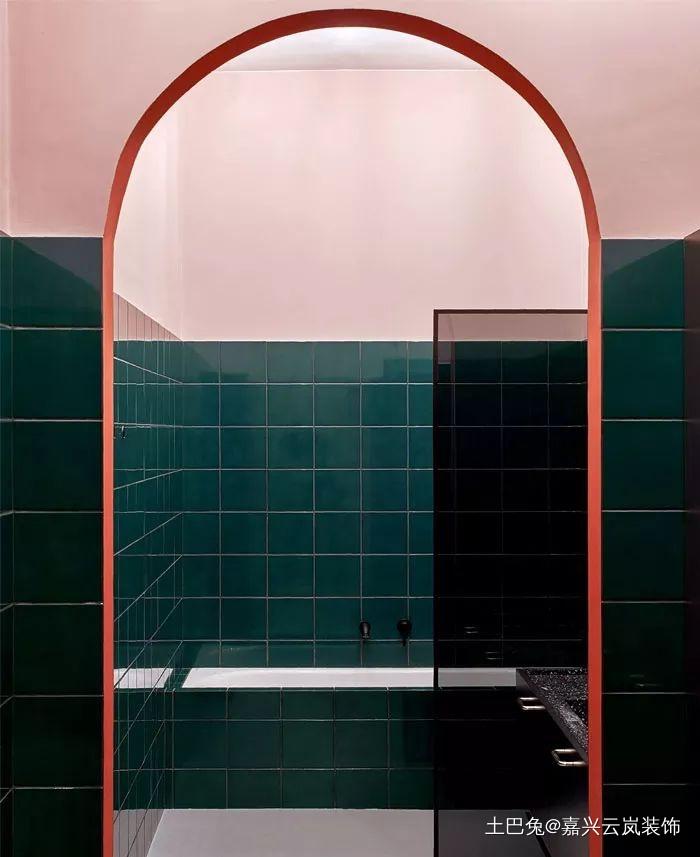 99平米的色彩艺术舒适、个性卫生间洗漱台其他卫生间设计图片赏析