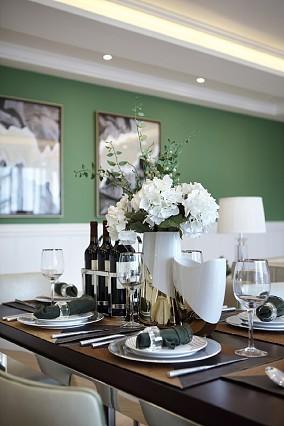 美式风格南天金源156平厨房美式经典设计图片赏析