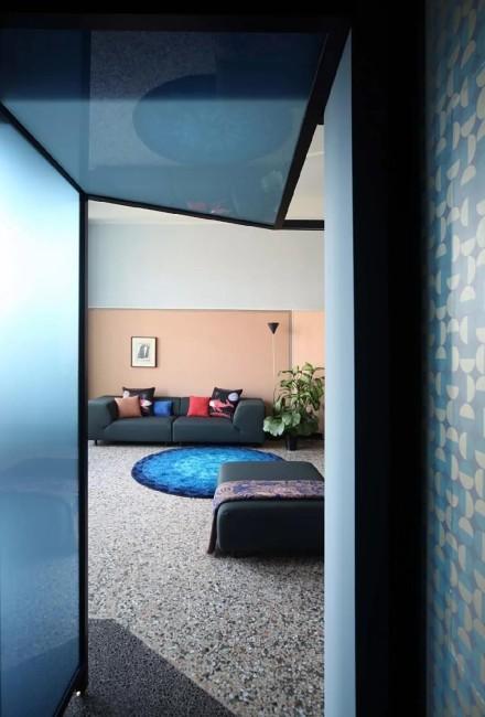 160㎡现代轻奢艺术感公寓!功能区