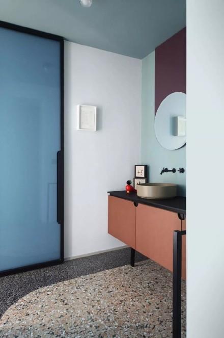 160㎡现代轻奢艺术感公寓!卫生间1图