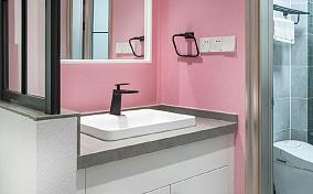 清新舒适的88平北欧休闲风卫生间其他设计图片赏析