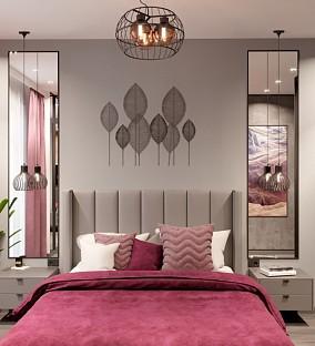混搭+120平方+3居室卧室潮流混搭设计图片赏析