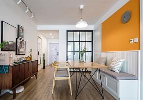75平米现代小清新俩人爱巢厨房现代简约设计图片赏析