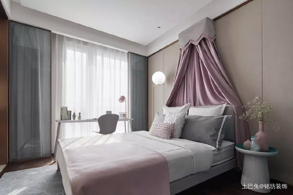 230㎡新中式风格家居装修卧室中式现代卧室设计图片赏析