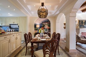 190平米美式经典 舒适时尚的家11875191
