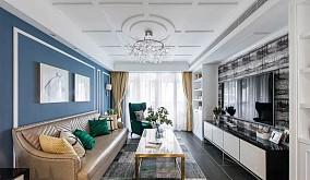 125平米  现代美式三居室11882810
