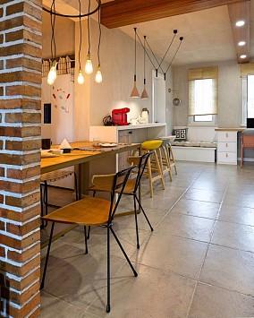 遇见自由,回归到最初的样子厨房美式田园设计图片赏析