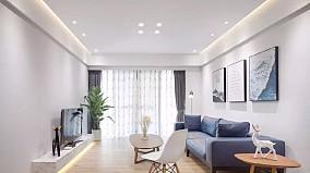 隆源国际城140平米简约三居室装修11934821