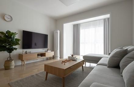 80平米日式简装新居客厅