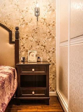 73平米的二居室,美式风格卧室2图美式经典设计图片赏析