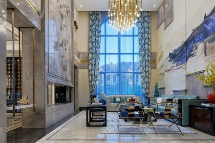 半山溪谷300m²古典与现代的结合客厅2图