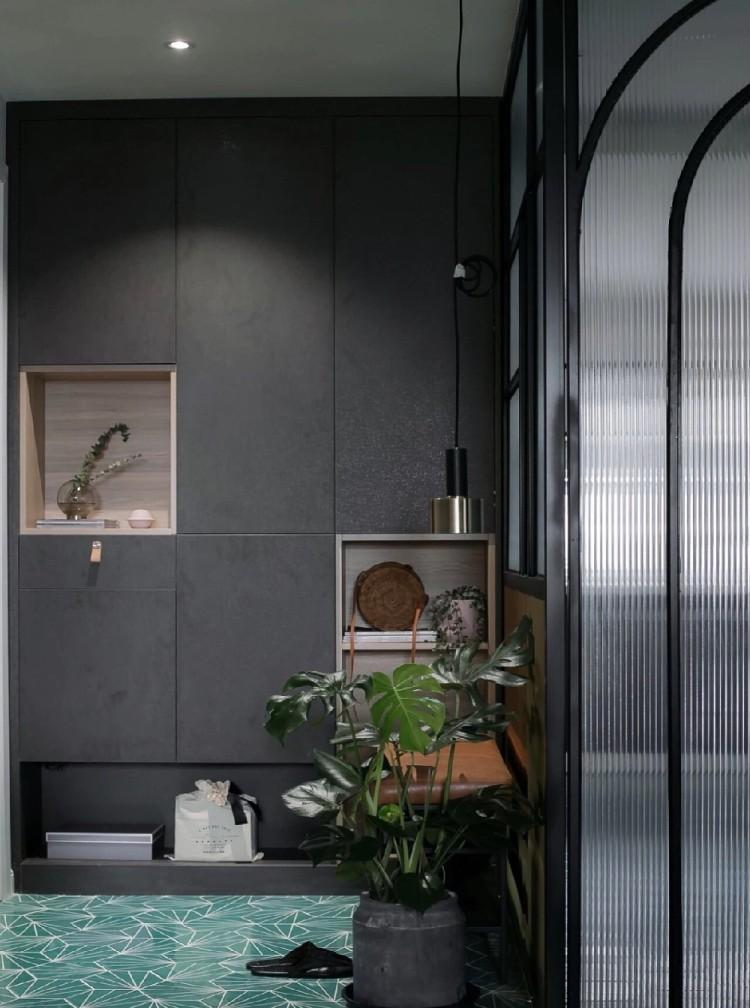 用配色划分空间,不管如厕下厨都是新体验