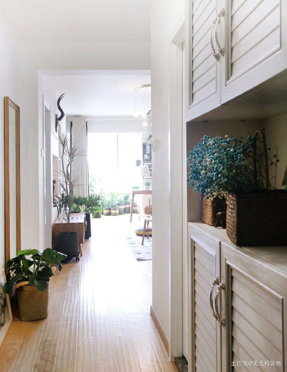 72平米的一居室小户型的合理利用卧室北欧极简卧室设计图片赏析