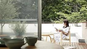 76㎡现代日式,每一处都是视觉享受阳台1图日式设计图片赏析