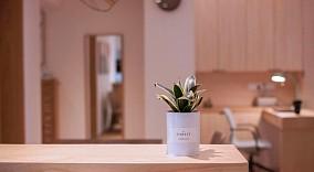 75平的日式,温馨的家功能区设计图片赏析