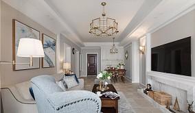 100㎡3居室,轻美式装修,光看着就心动12072656