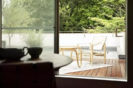 76㎡现代日式,每一处都是视觉享受阳台2图