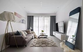 89平舒适北欧2室2厅,轻盈演绎质感生活12065826
