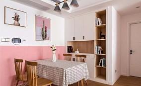 110㎡金粉北欧,温馨小情调厨房现代简约设计图片赏析