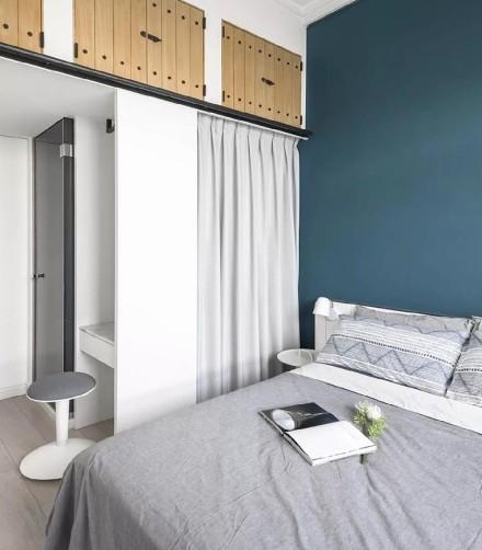 60平日式绘色室内设计卧室