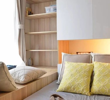 78平混搭新中式婚房,实用美观卧室