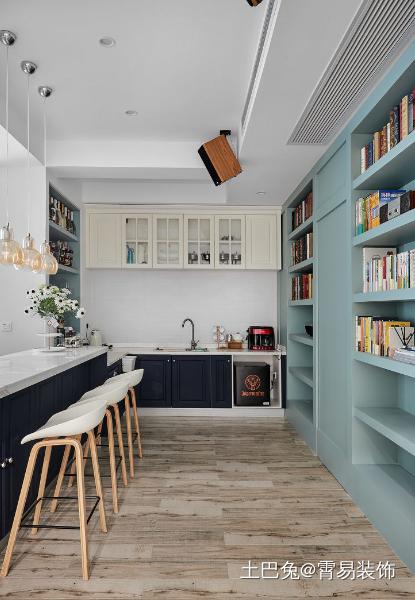 细腻到时光里的舒适风餐厅欧式豪华厨房设计图片赏析