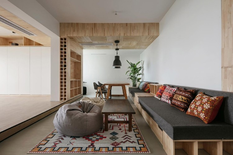 60平公寓房,家与养生