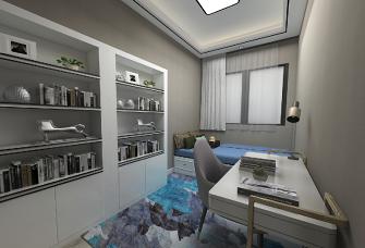 蓝钻香缇148平四室两厅两卫现代轻奢风