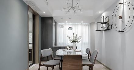舒适且气质爆棚的120平现代住宅厨房