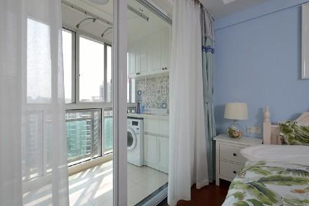 82平二室现代简约风阳台