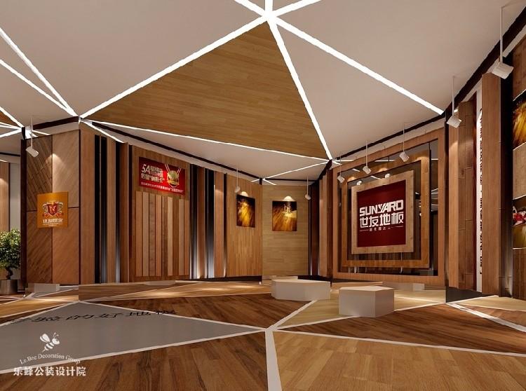 建材世友地板展厅设计装修