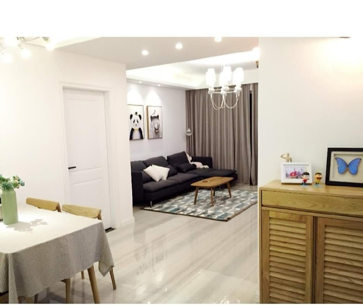 60两居室现代简约风格