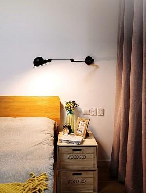 101平米的三居室,北欧风格卧室北欧极简设计图片赏析