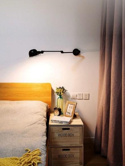 101平米的三居室,北欧风格卧室